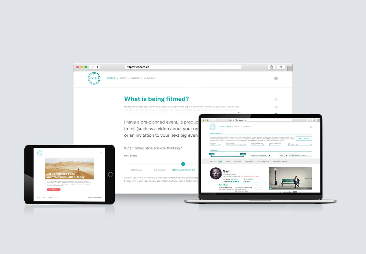 tepia co case study lenzera reservations app feature image