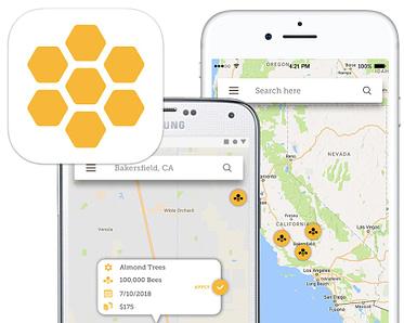 Tepia Co Portfolio Pollination Network App (ios android)